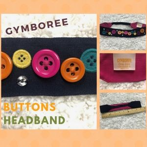 NWOT - GYMBOREE Buttons & Bling Headband